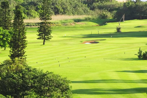 Discounted green fees at Port Shepstone Country Club when you book this special offer to stay at Umthunzi Hotel
