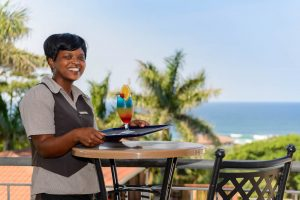Enjoy a Cocktail on the Terrace Deck