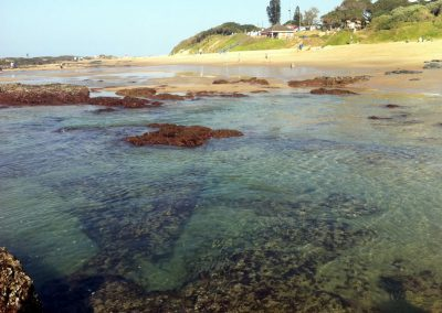 Low tide at Tweni Beach