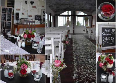 Chapel wedding  @ Umthunzi