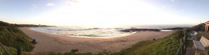 Tweni Beach March Panorama