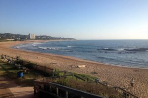 Umtentweni Beach view from top