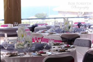 Weddings @ Umthunzi -- Reception on Terrace Deck
