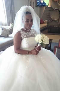 Weddings @ Umthunzi -- Bride in reception