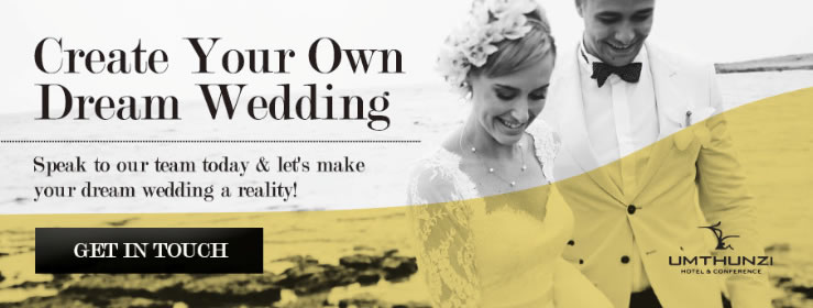 Create your own dream wedding - speak to our team today and let's make your dream wedding a reality!