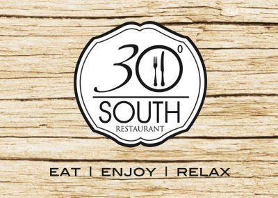 30° South Restaurant @ Umthunzi - Logo