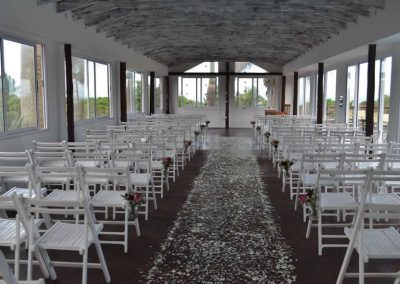 Private wedding chapel venue at Umthunzi