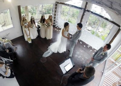 Milkwood Chapel wedding @ Umthunzi