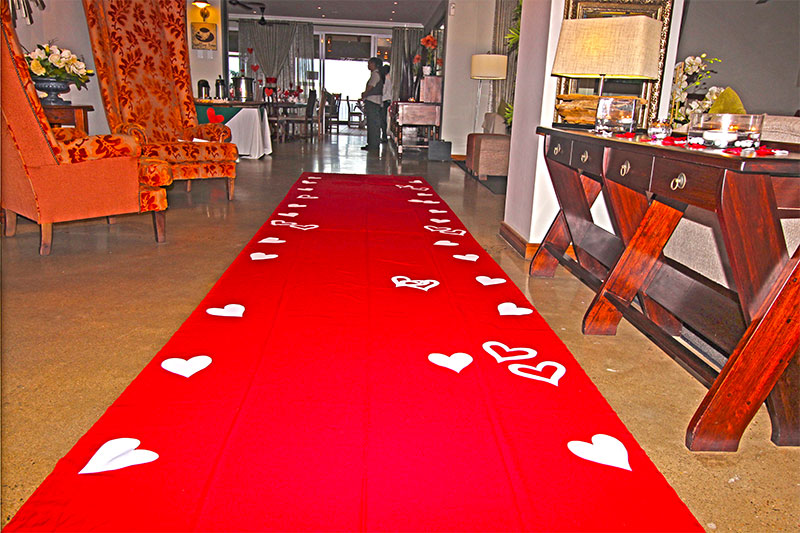 Valentines Day Red Carpet Experience