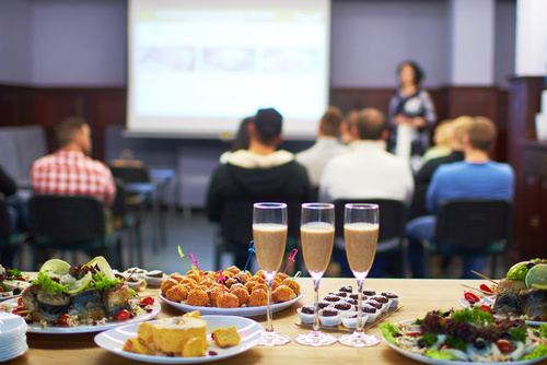 best menu ideas for a business conference