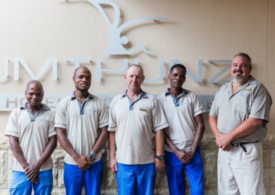 Umthunzi Staff - looking after the hotel