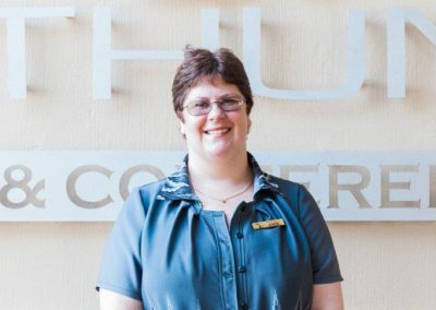 Umthunzi Staff - Anri van Zyl.  Front office manager.