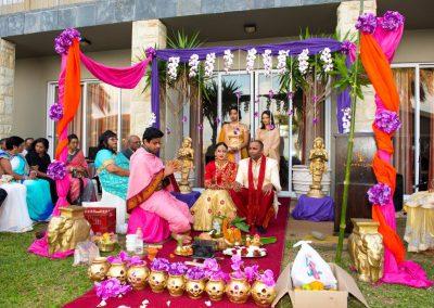 Hindu Wedding at Umthunzi Hotel