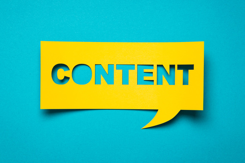 Promote an event online through content