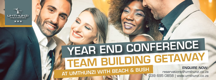 For the best year end function venue on the KZN South Coast come to Umthunzi Hotel.