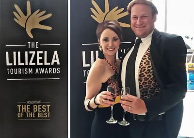 Ryan and Ilse at Lilizela Award Ceremony