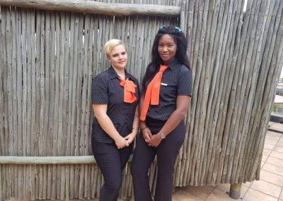 Umthunzi Hotel Staff with new uniforms