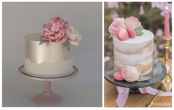 the love for naked cakes and single-tier cakes continue