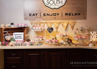 Wedding reception at Umthunzi Hotel in Restaurant - Photo credit Sean van Tonder