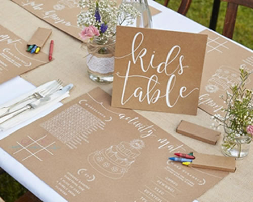 Have a kids table