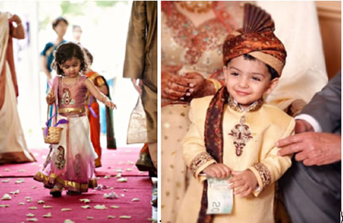 Cultural differences have to be accounted for when it comes to kids at a wedding